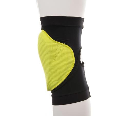 Protection genoux de planche à neige adulte Defense noir