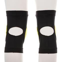 Adult Snowboard Knee Protectors Defence Knee - Black