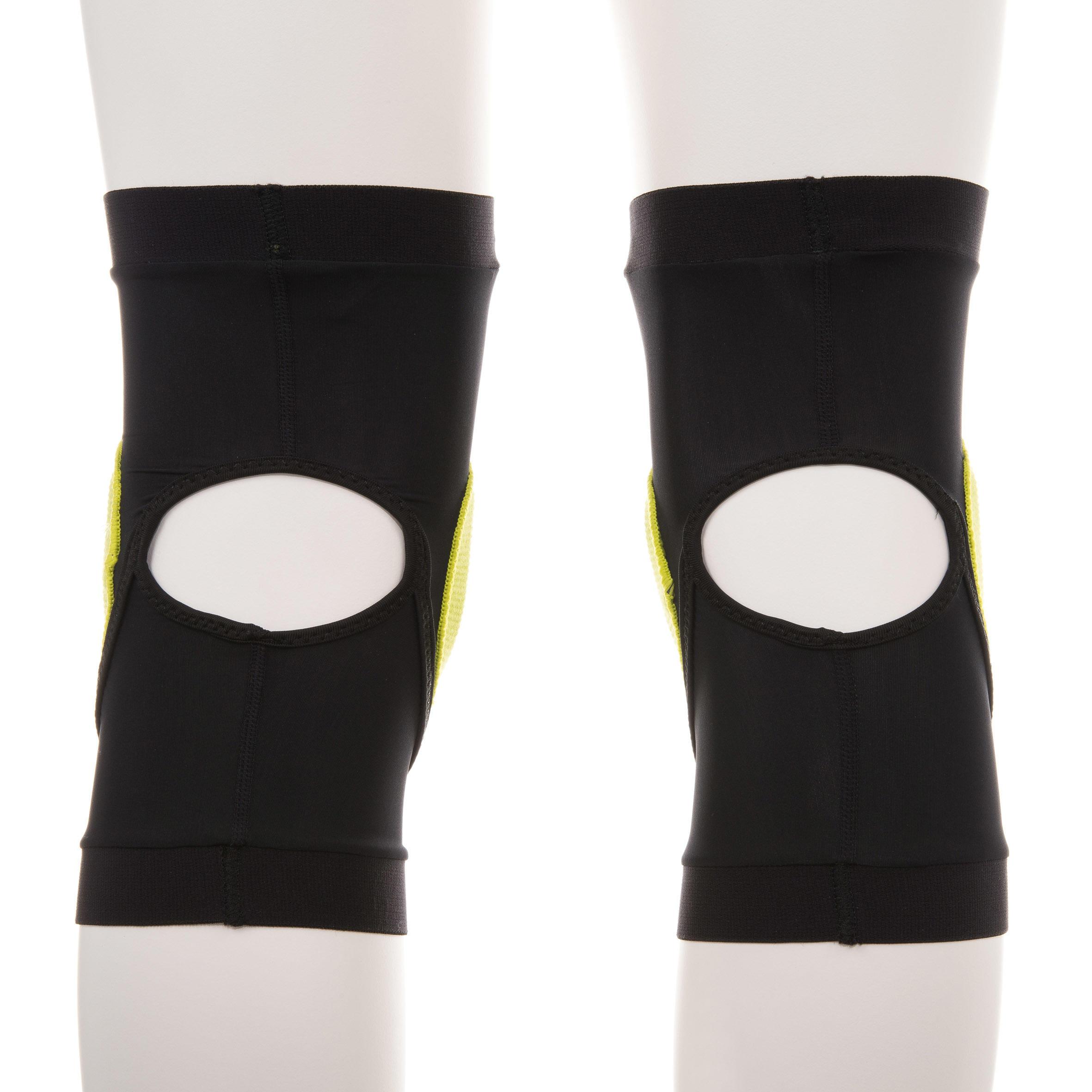 Protège-genoux de planche à neige adulte Protection genou noir