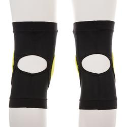 Adult Snowboard Knee Protectors Defence Knee - Black