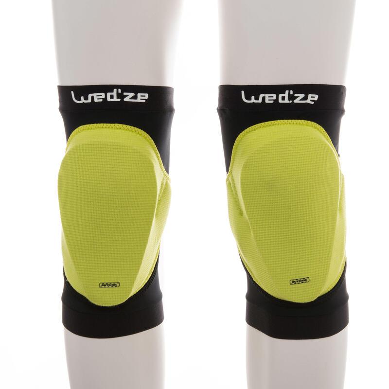 Protection genoux de snowboard adulte Defence knee noir