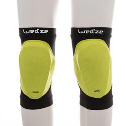 Kniebeschermer voor snowboarden volwassenen defense knee zwart