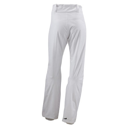 WEDZE MIDCARVE WOMEN'S SKI TROUSERS - WHITE
