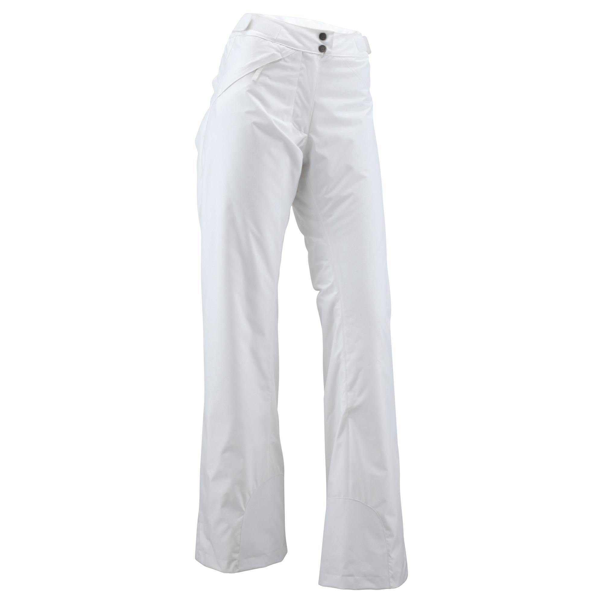 WEDZE FIRST HEAT WOMEN S SKI PANTS - WHITE  99e05795d