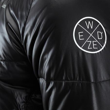 Arpenaz 100 men's down hiking jacket - black