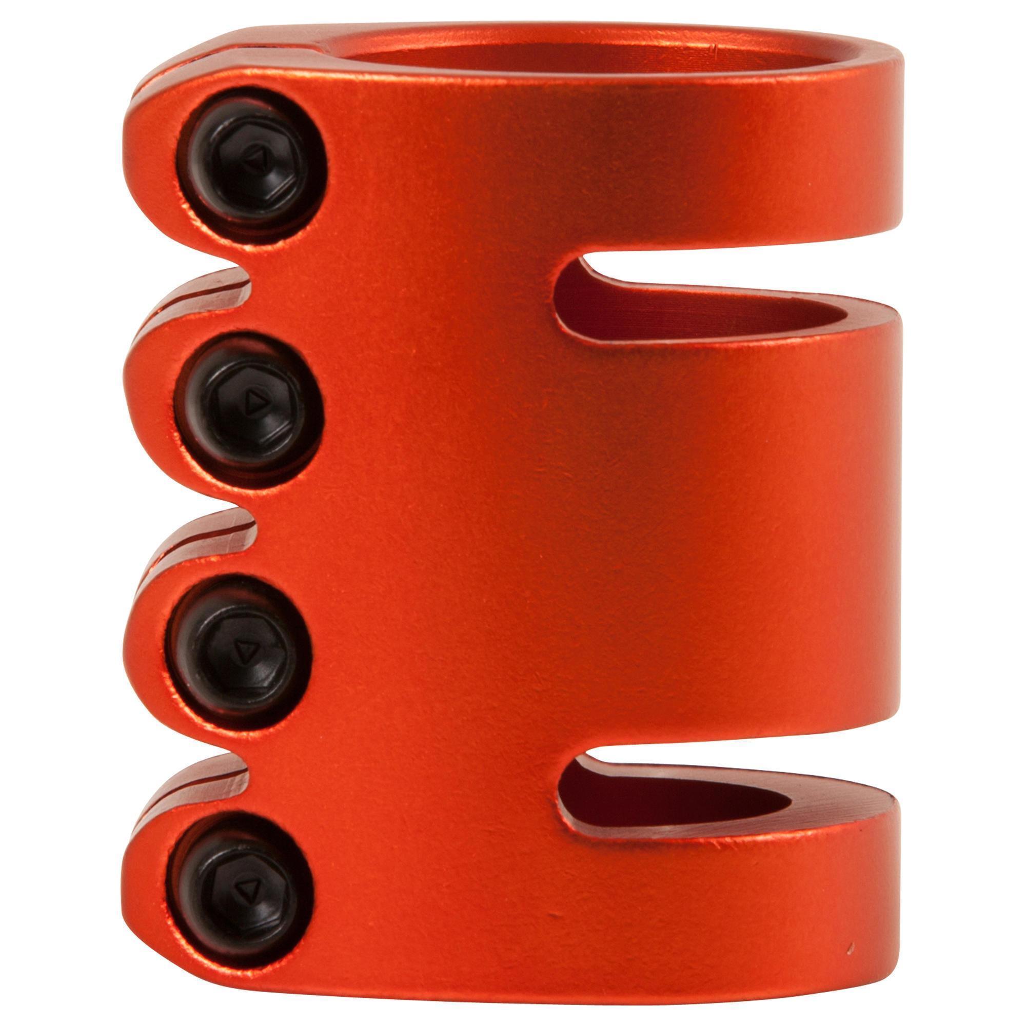 Collier de serrage orange