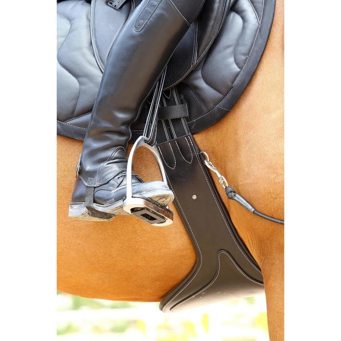 Sangle bavette cuir équitation poney et cheval ROMEO - 525144