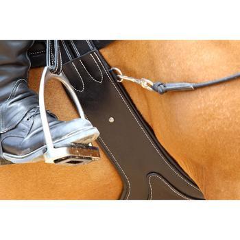 Sangle bavette cuir équitation poney et cheval ROMEO - 525147