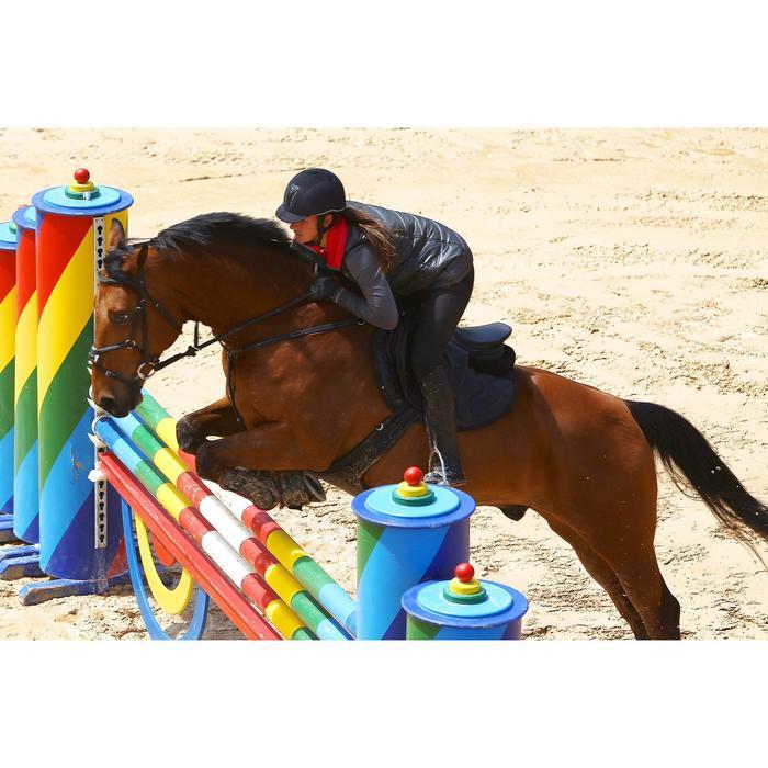 Sangle bavette cuir équitation poney et cheval ROMEO - 525149