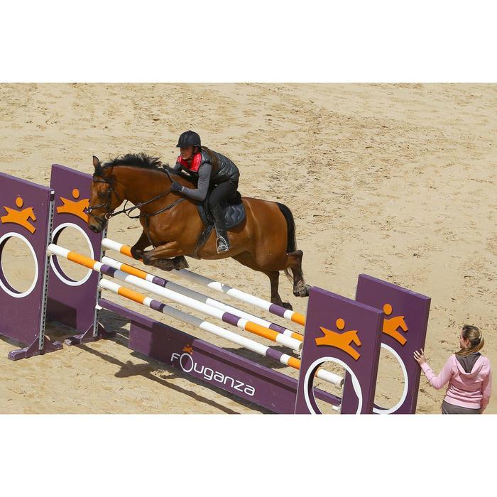 Sangle bavette cuir équitation poney et cheval ROMEO - 525151