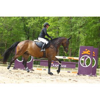 Sangle bavette cuir équitation poney et cheval ROMEO - 525153
