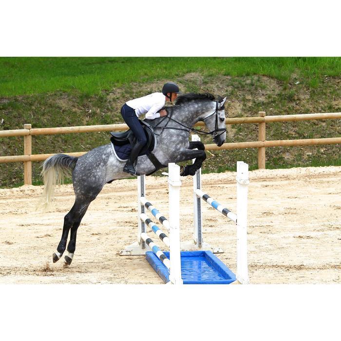 Sangle bavette cuir équitation poney et cheval ROMEO - 525154