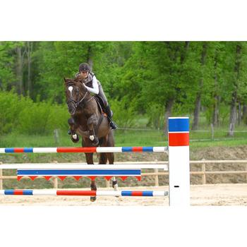 Sangle bavette en cuir équitation cheval et poney ROMEO marron