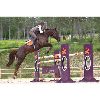Sangle bavette cuir équitation poney et cheval ROMEO - 525160