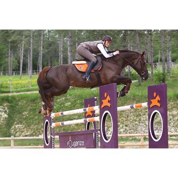 Sangle bavette cuir équitation poney et cheval ROMEO - 525161