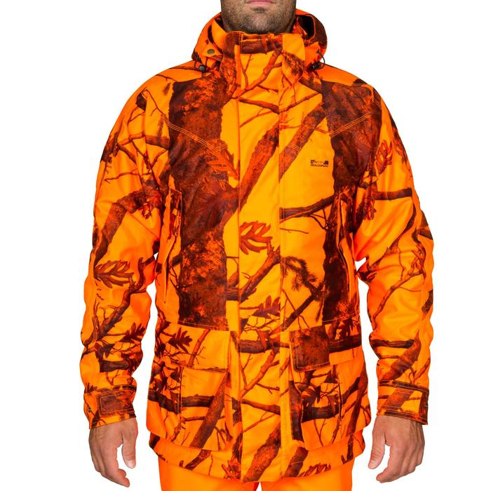 Veste chasse Sibir 300 CAMOFLUO - 525879