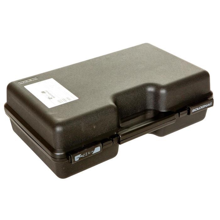 Maletín Transporte Cartuchos Solognac 200 Cartuchos Plastico Negro