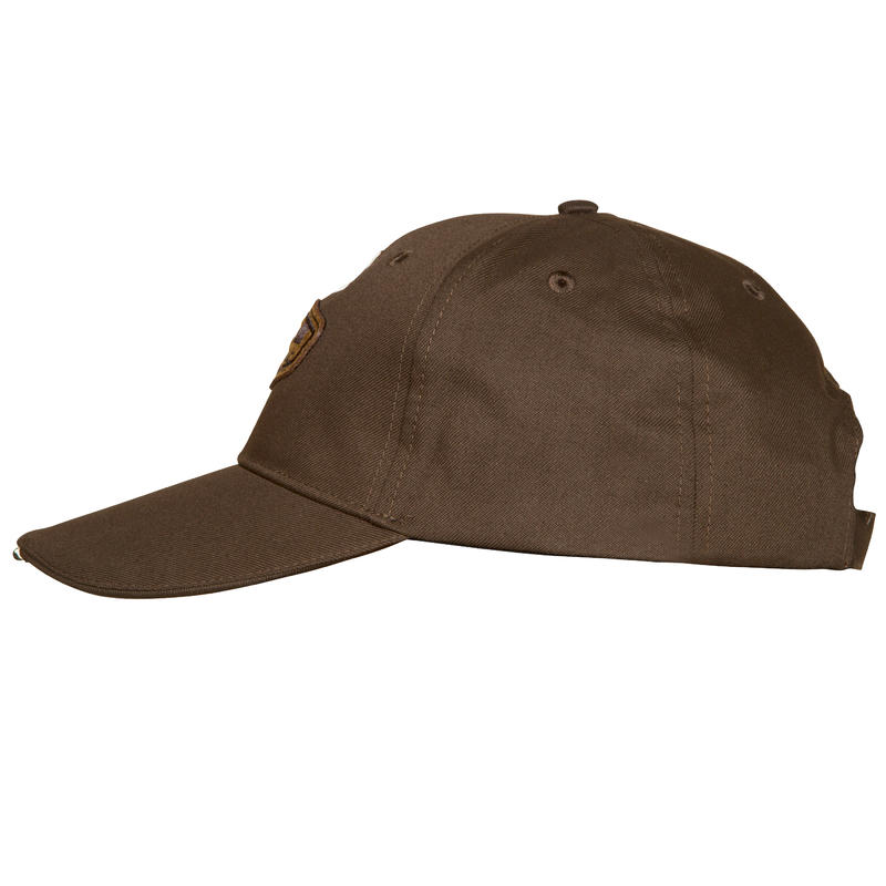 Chocolate hunting cap with lighting
