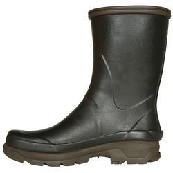 Stevige halfhoge laarzen Inverness 300 groen - 526018
