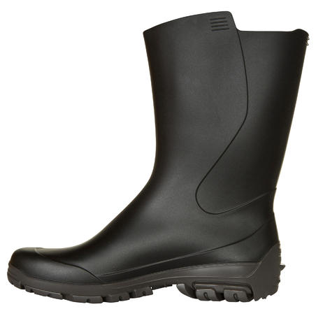 I100 Kids Short Wellies - Black