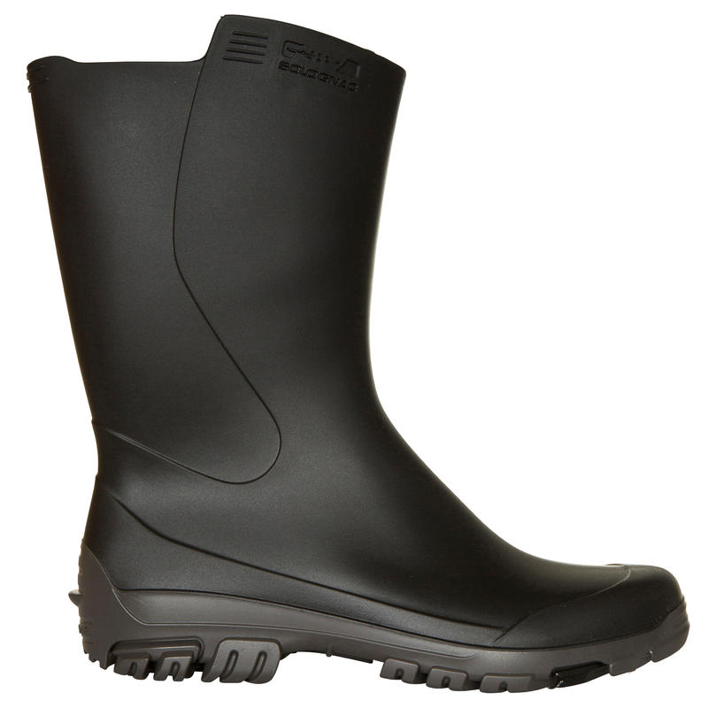 INVERNESS 100 MEN'S HUNTING ANKLE BOOTS BLACK