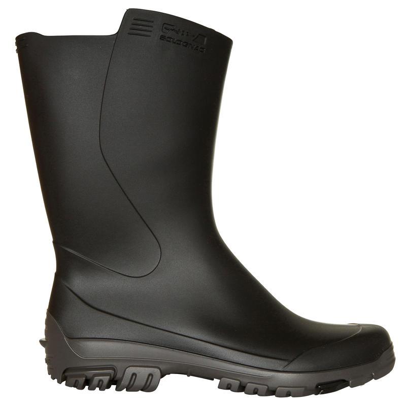 รองเท้าบูตยางแบบสั้นสำหรับเด็กรุ่น Inverness 100 (สีดำ)