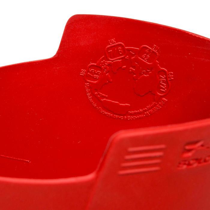 Botín Inverness 100 junior rojo