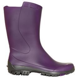 Inverness 100 女款短筒雨靴 - 紫色
