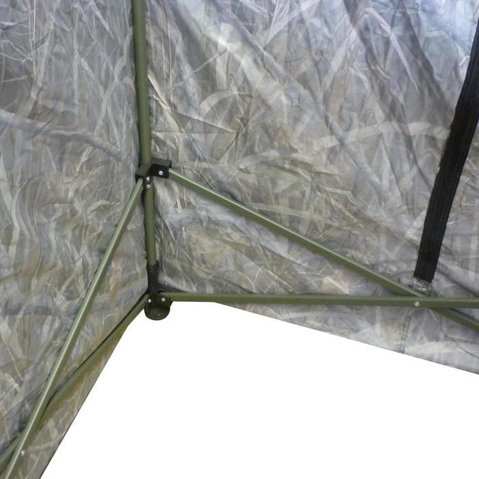 Vierkante loertent met moerascamouflage voor de jacht - 526062