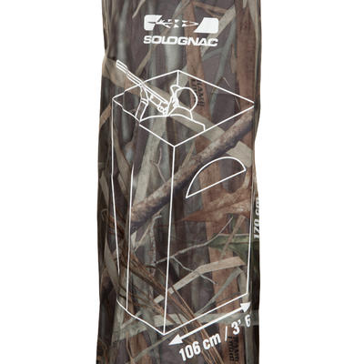 Square Hunting Hide - Wetlands Camo