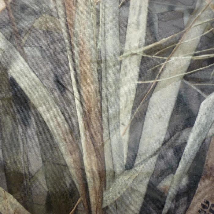Jagd-Unterstand quadratisch Camouflage Schilf