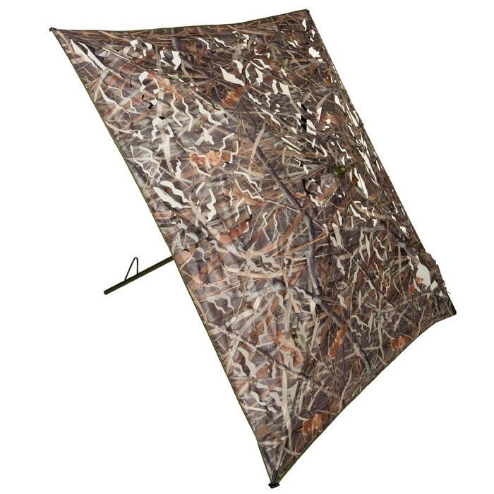 Affût chasse écran 3D camouflage marais - 526137