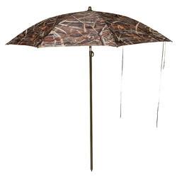 Paraguas de caza camuflaje acuático