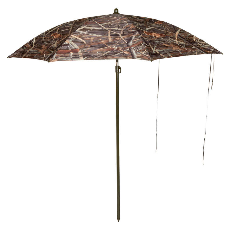 HIDES Shooting and Hunting - Camouflage Hunting Umbrella SOLOGNAC - Hunting and Shooting Accessories