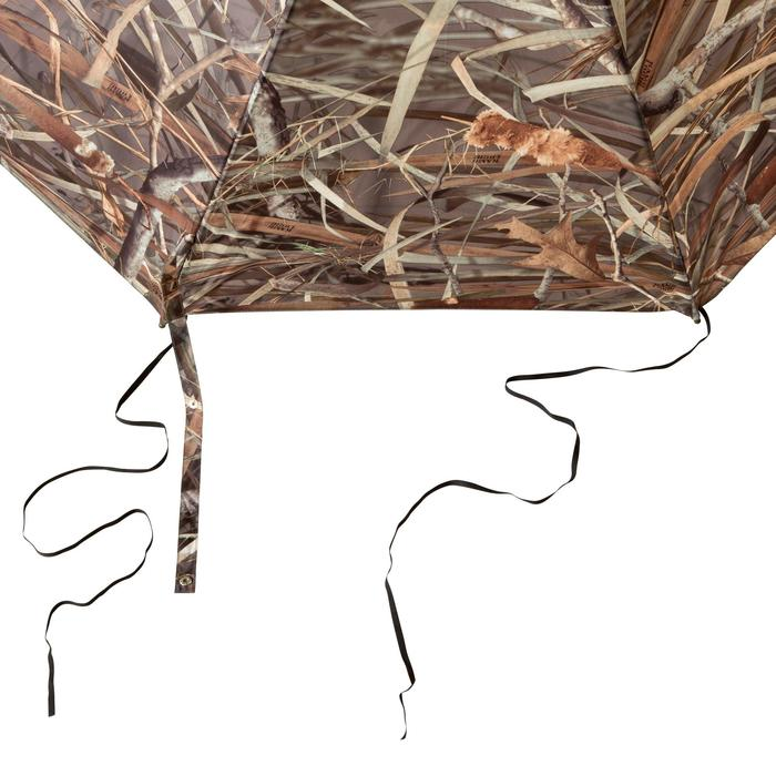 Paraguas Caza Solognac Kamo-R 162 Cm Diametro Camuflaje Acuático