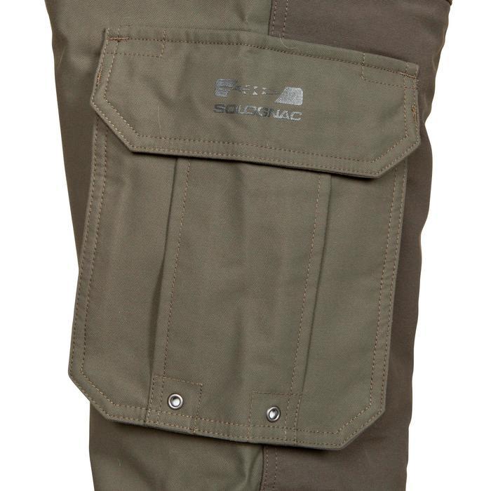 Pantalon chasse Inverness 500 imperméable vert - 526218