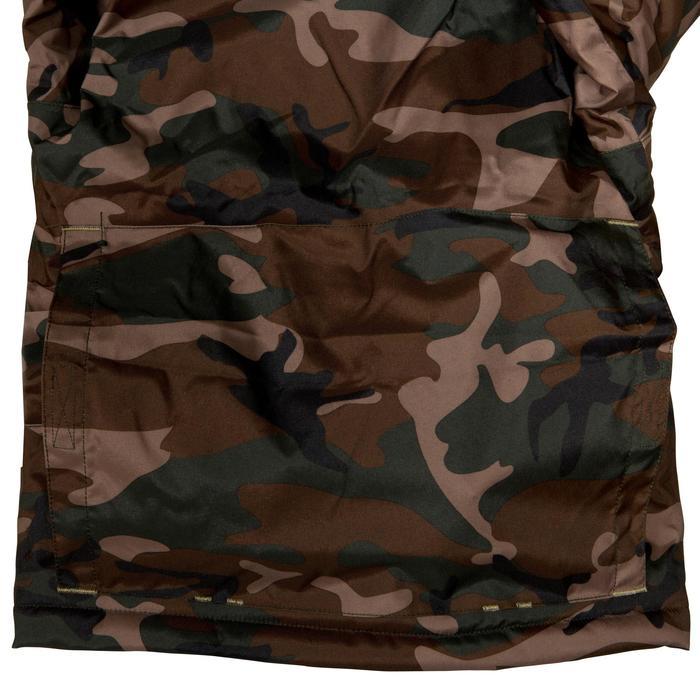 Kinderjas 100 voor de jacht camouflage groen