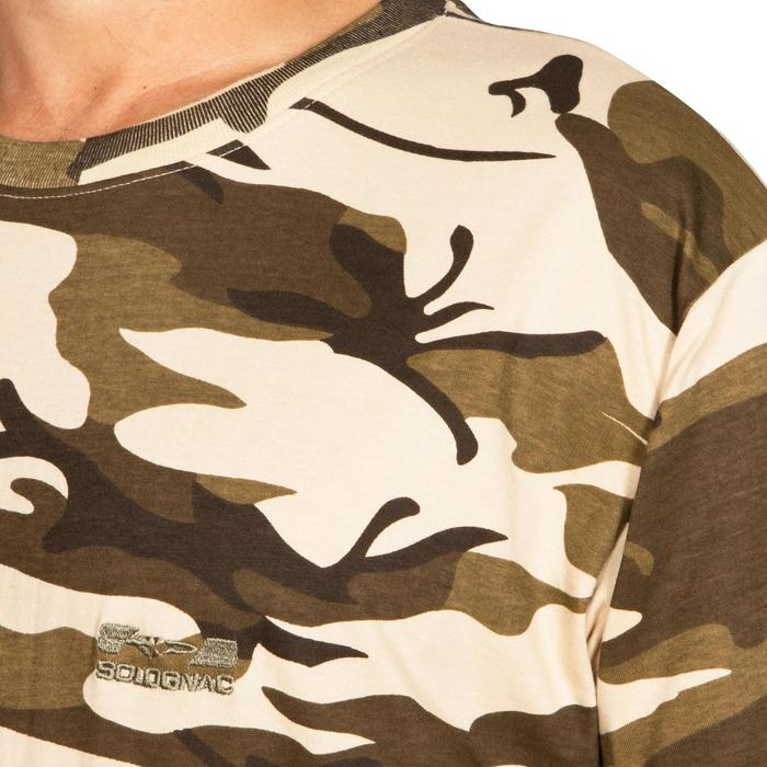 G100 short sleeved T-Shirt Camouflage Beige