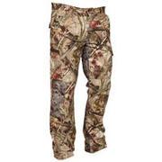 Rjave maskirne lovske hlače ACTIKAM 100