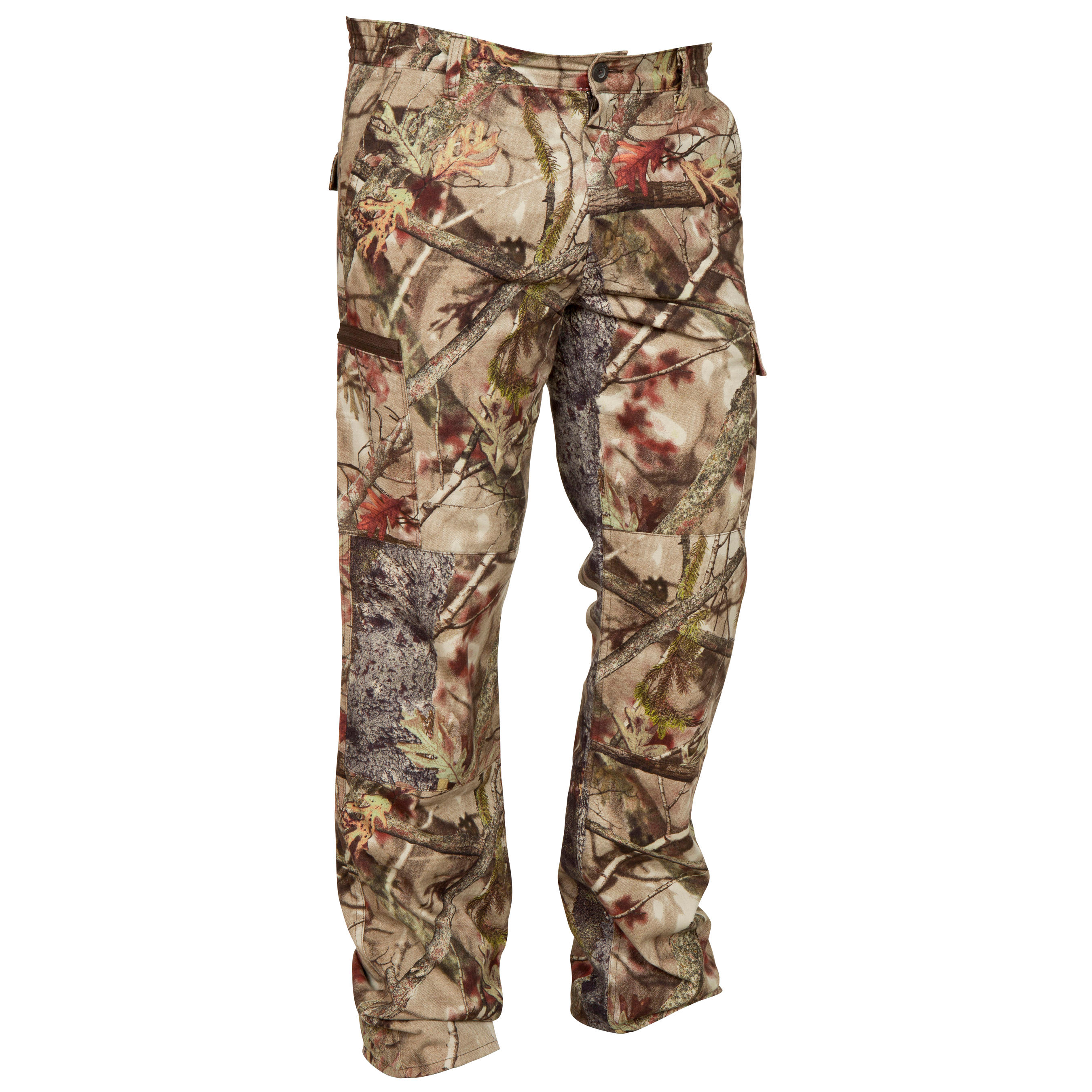 Steppe 100 Actikam Trousers - Camouflage Brown