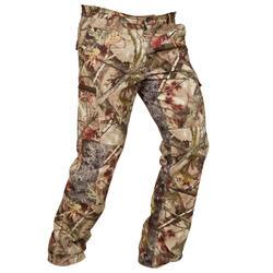 Pantalon Caza Solognac Bgs Camuflaje Marron Transpirable Silencioso