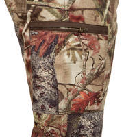 100 Breathable Hunting Trousers - Woodland Camo