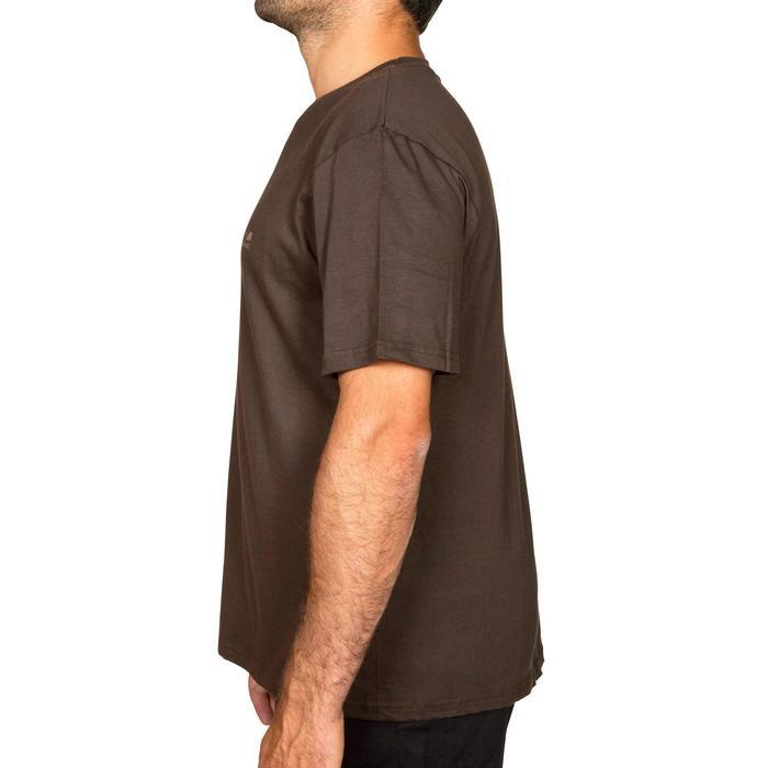 Tee shirt steppe 100  manches courtes - 526432