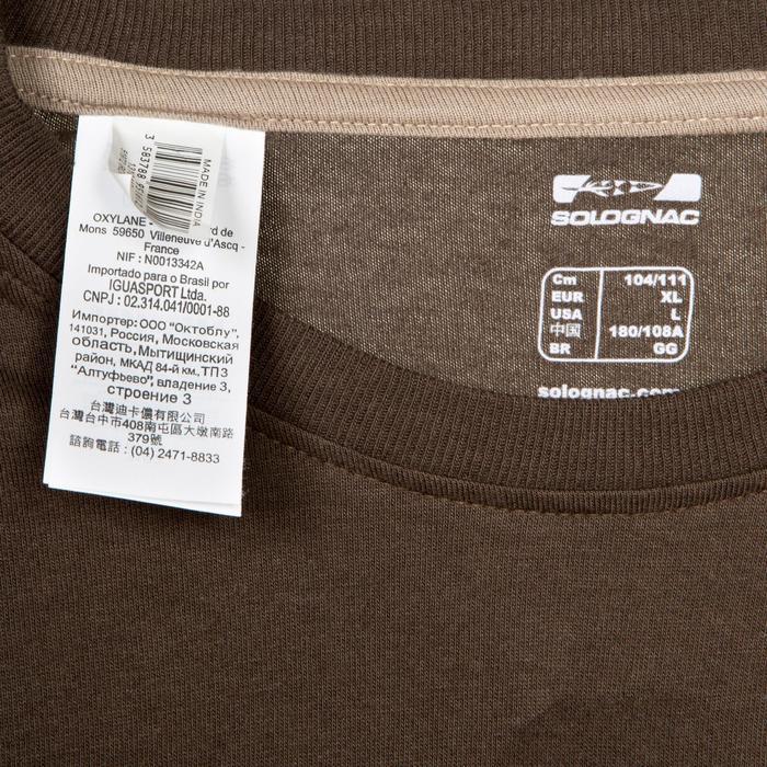 Tee shirt steppe 100  manches courtes - 526442