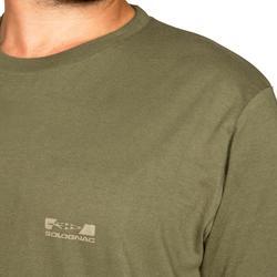 Camiseta steppe 100 manga corta verde