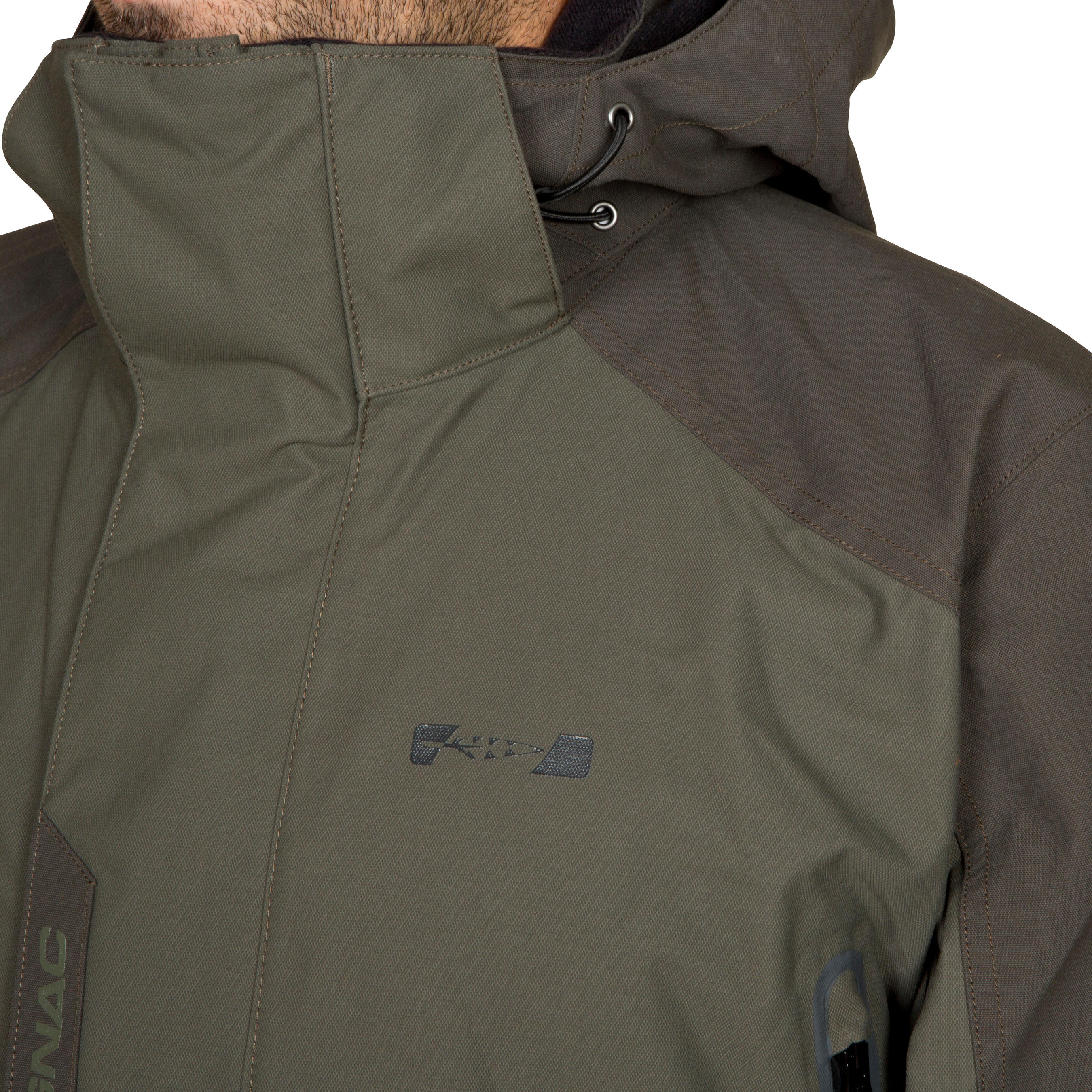 Veste chasse Inverness 500 imperméable verte