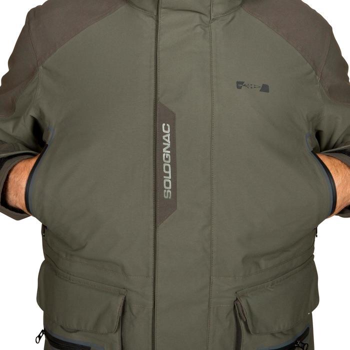 Veste chasse Inverness 500 imperméable vert - 526510