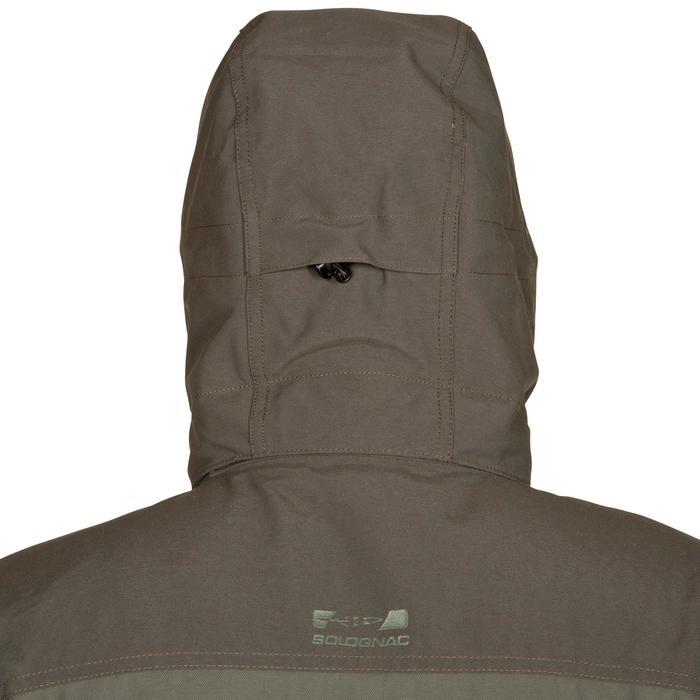 Veste chasse Inverness 500 imperméable vert - 526514