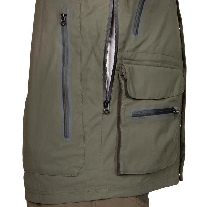 Veste chasse Inverness 500 imperméable vert - 526515