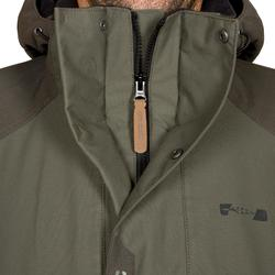 Chaqueta Caza Solognac Inverness 500 Impermeable Verde